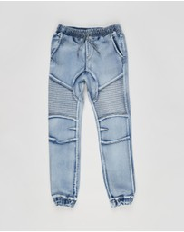 Free by Cotton On - Slouch Denim Pants - Teens