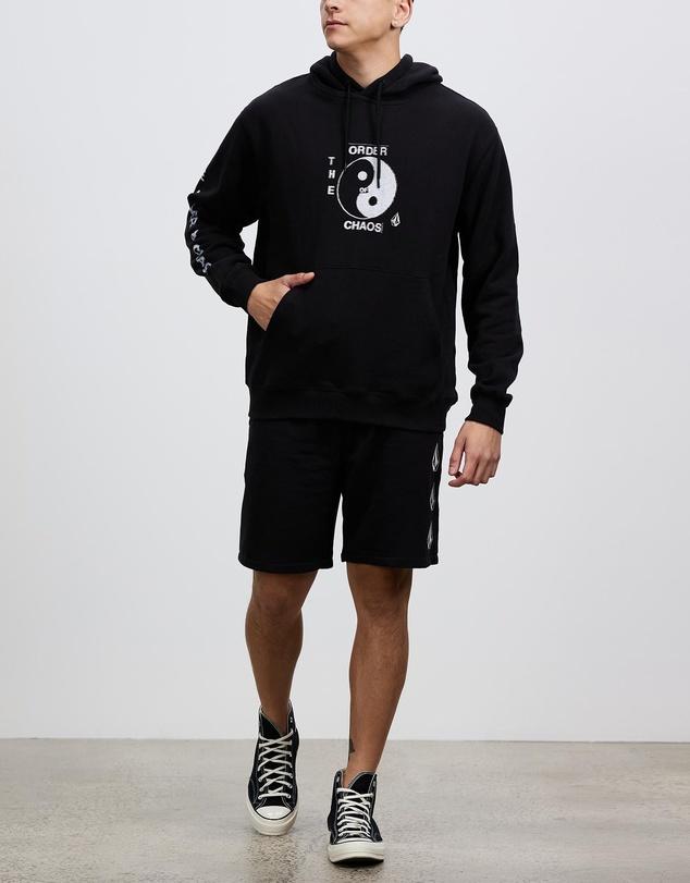 Men Iconic Stone Fleece Shorts