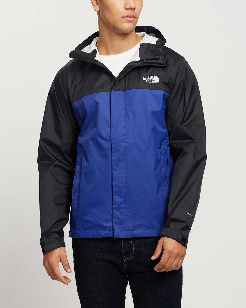 The North Face Venture 2 Jacket Coats & Jackets Bolt Blue TNF Black