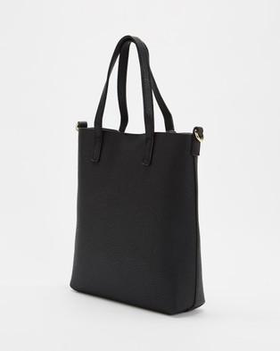 PETA AND JAIN Sage Tote Bag - Handbags (Black)