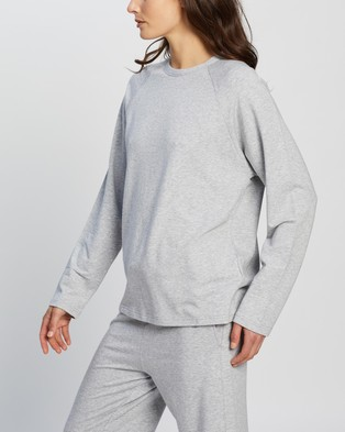 Assembly Label Kin Top - Sweats (Grey Marle)