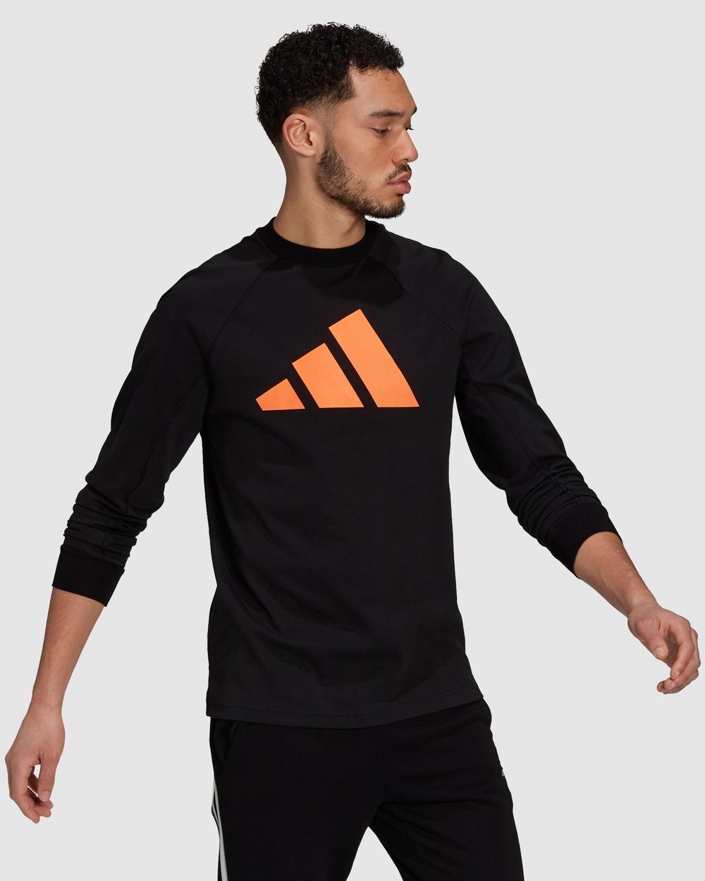 adidas Performance Sportswear Lightweight Sweatshirt Jumpers & Cardigans Black