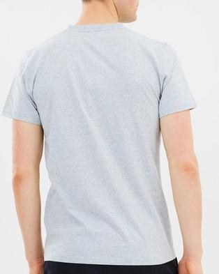 Norse Projects Niels Standard Tee - T-Shirts & Singlets (Light Grey Melange)