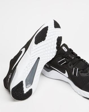 Nike Renew Retaliation Training 2   Men's - Training (Black, White & Cool Grey)