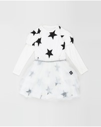 Nununu - Fairytale Star Tulle Dress - Kids