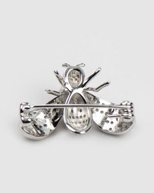 Marlafiji Cher Brooch - Jewellery (Silver)