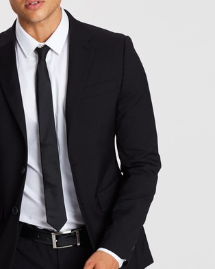 Staple Superior Staple Slim Suit Jacket - Suits & Blazers (Black)