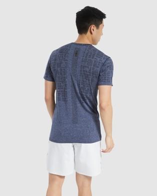 Reebok Performance United By Fitness MyoKnit Tee - Long Sleeve T-Shirts (Grey)