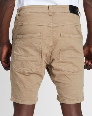 Silent Theory Outlaw Shorts - Denim (SAND)