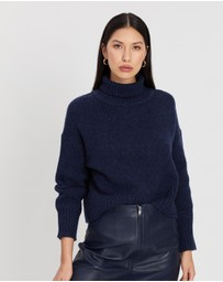 ENA PELLY - Turtleneck Cropped Knit