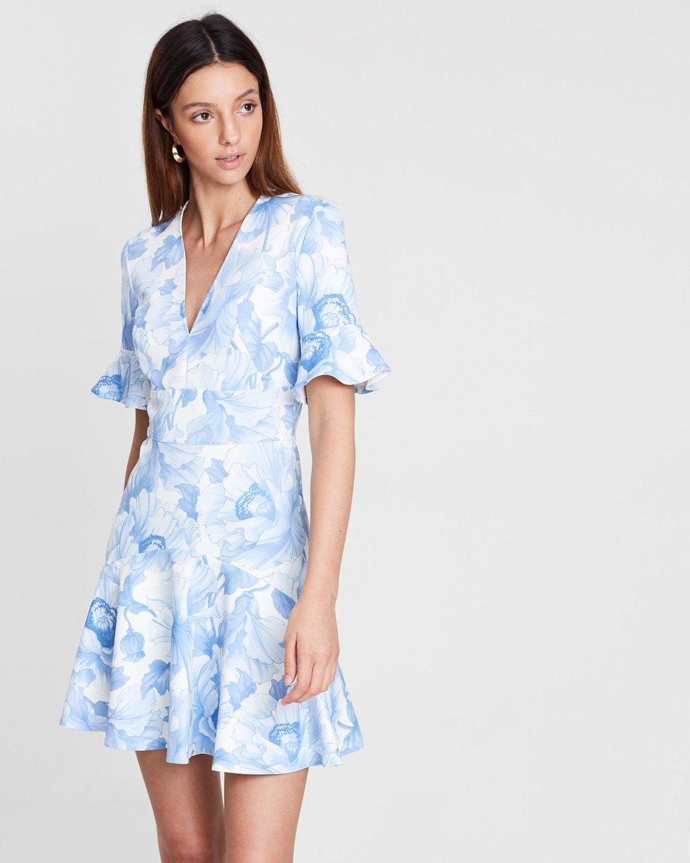 Fleur V Flip Dress By Lover Online The Iconic Australia