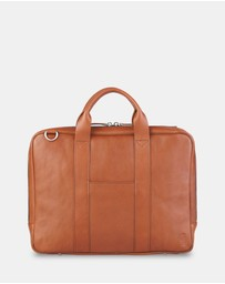 Toffee - Lincoln Briefcase 13