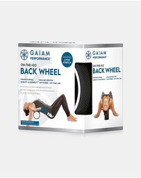 Gaiam - Performance On The Go Back Wheel