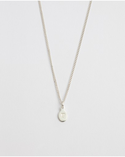 Kirstin Ash Initial F Necklace Sterling Silver