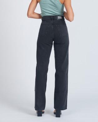 Dr Denim Echo Jeans - Slim (Concrete Black)