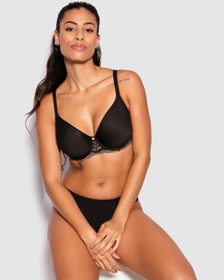 Bras N Things Pure Body Full Cup Bra - Lingerie (Black)
