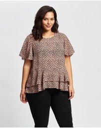 Atmos&Here Curvy - Adele Top