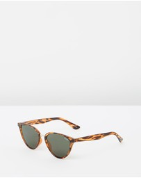 Quay Australia - Rumours Tort Cat Eye Sunglasses