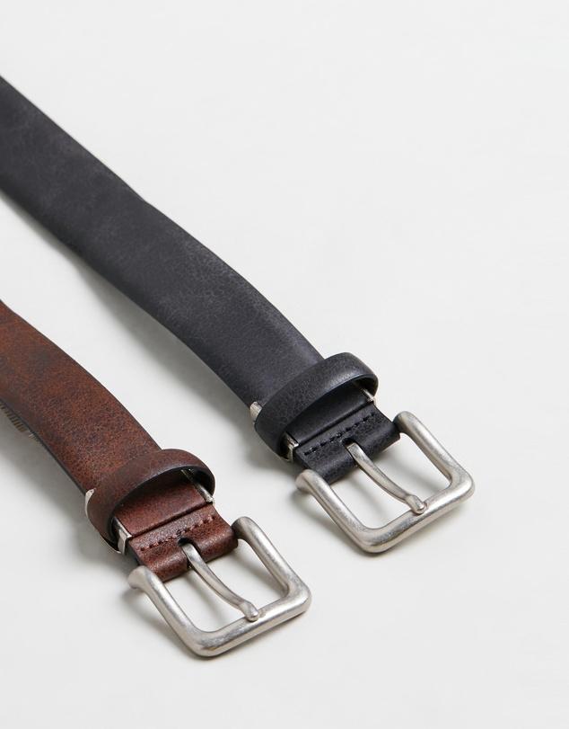 Men Two Belt Gift Set