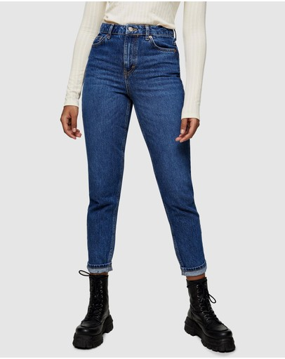 TOPSHOP - Mom Tapered Jeans