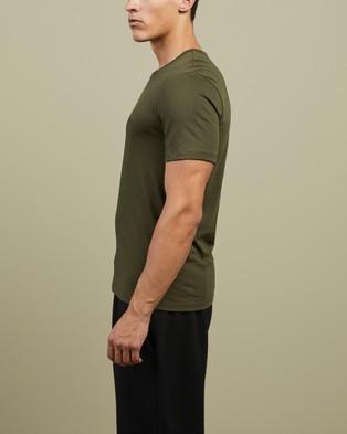 BOSS - Cotton T Shirt 3 Pack - T-Shirts & Singlets (Blue, White & Green) Cotton T-Shirt 3-Pack
