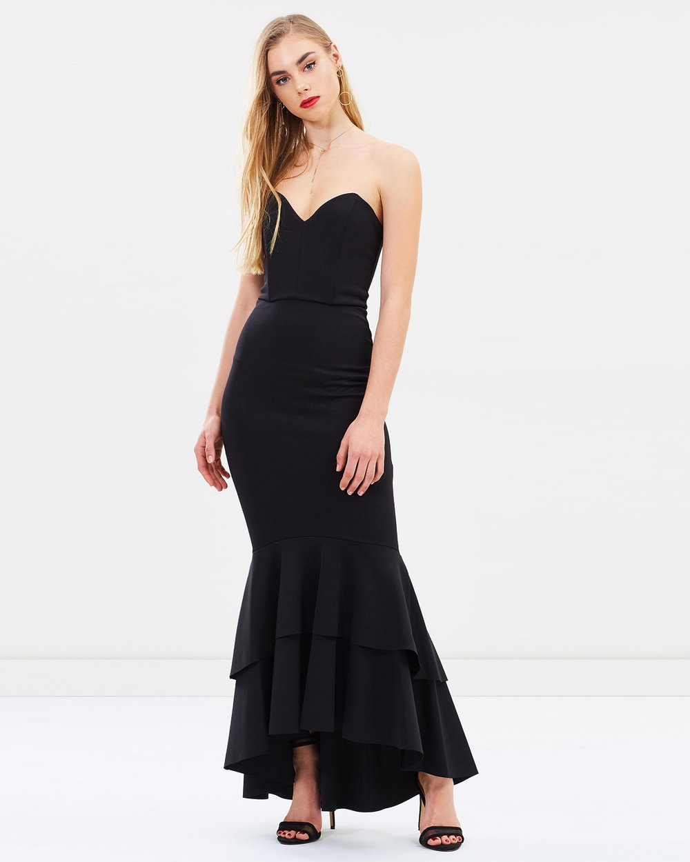 Bandeau Fishtail Prom Dress By Miss Selfridge Online The Iconic