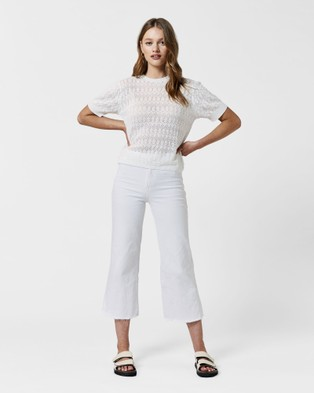 MVN Azzuro Top - Jumpers & Cardigans (White)
