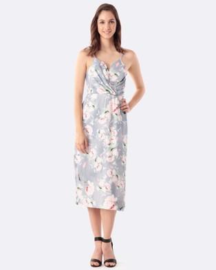 Amelius – Peaches Dress – Printed Dresses Multi