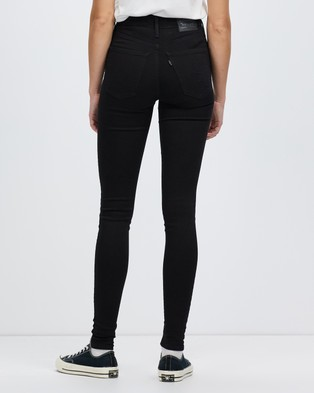 Levi's Mile High Super Skinny Jeans - High-Waisted (New Moon)