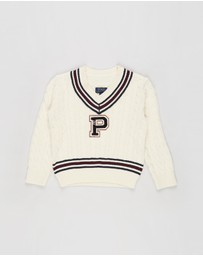 Polo Ralph Lauren - LS Cricket Top - Kids (5-7 Years)