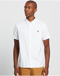 PS by Paul Smith - Casual Fit Zebra Badge Shirt