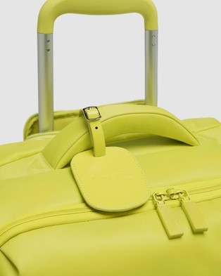 Lipault Paris Originale Plume Spinner 55cm Expandable Suitcase - Travel and Luggage (Yellow)