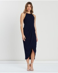 Cooper St - Avery High Neck Drape Dress