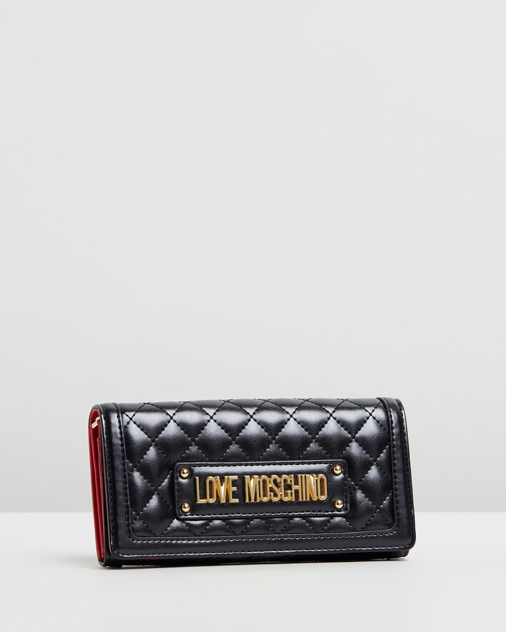 0e7e314950a Quilted Chain Wallet by LOVE MOSCHINO Online | THE ICONIC | Australia