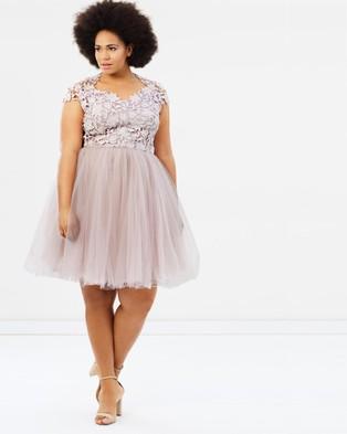 Chi Chi Curve – Monique Dress – Bridesmaid Dresses Mink