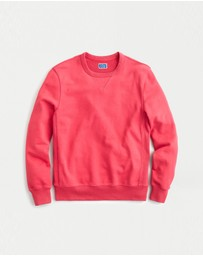 J.Crew - Garment-Dyed French Terry Crewneck Sweatshirt