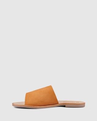 Sol Sana Teresa Slides - Sandals (Toffee Suede)