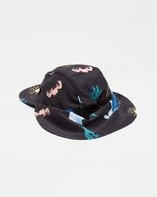 Cotton On Kids Swim Hat   Kids - Hats (Phantom Sharks)