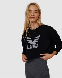 L'urv - Half Time Cropped Sweater