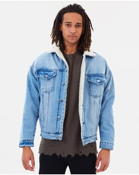 NORTHSIDER - Chester Drop Shoulder Sherpa Jacket