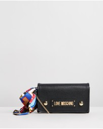 LOVE MOSCHINO - Borsa Grain Cross-Body Bag