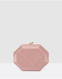 Forever New - Jewel Hardcase Clutch