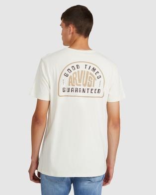 Arvust - Open Road T Shirt Short Sleeve T-Shirts (OFF WHIT) T-Shirt