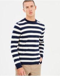 Norse Projects - Arild Linen Stripe Jumper