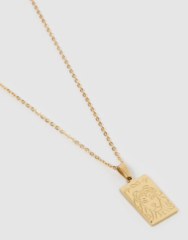Women Simba Pendant Necklace