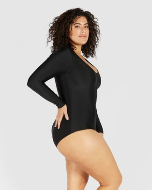 SAINT SOMEBODY Life In The Fast Lane - One-Piece / Swimsuit (Black)