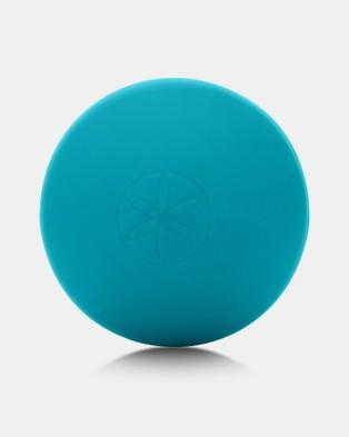 Gaiam No Knots Massage Ball - Sports Equipment (Blue)