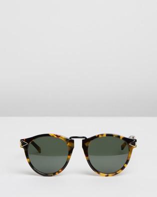 Karen Walker Helter Skelter - Sunglasses (Crazy Tort)