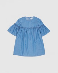 Outfit Kids - Chambray Dress - Kids-Teens
