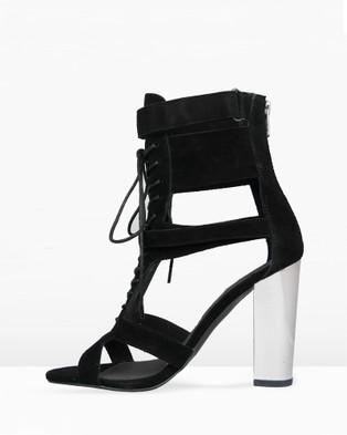 IRIS Footwear Robin - Sandals (Black/Metallic)
